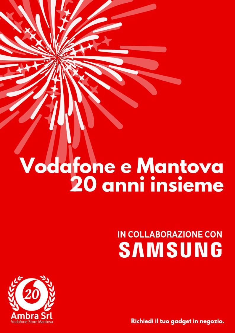 Vodafone e Mantova 20anni insieme