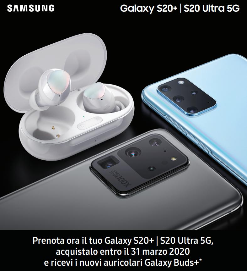 Preordine Samsung Galaxy S20