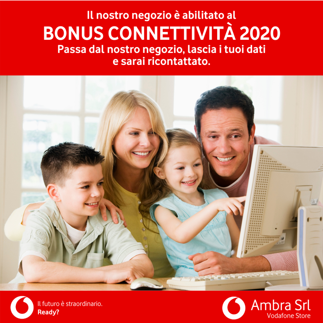 Bonus connettività 2020